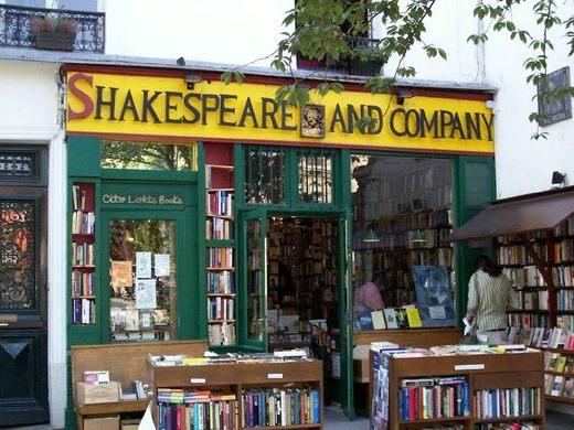Bookstores: Shakespeare & Company in Paris
