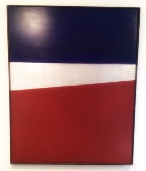 """""""Rød jord"""", 1969, Anna-Eva Bergman (1909–1987). Olje på lerret, 200 x 250 x 3,5 centimeter."""