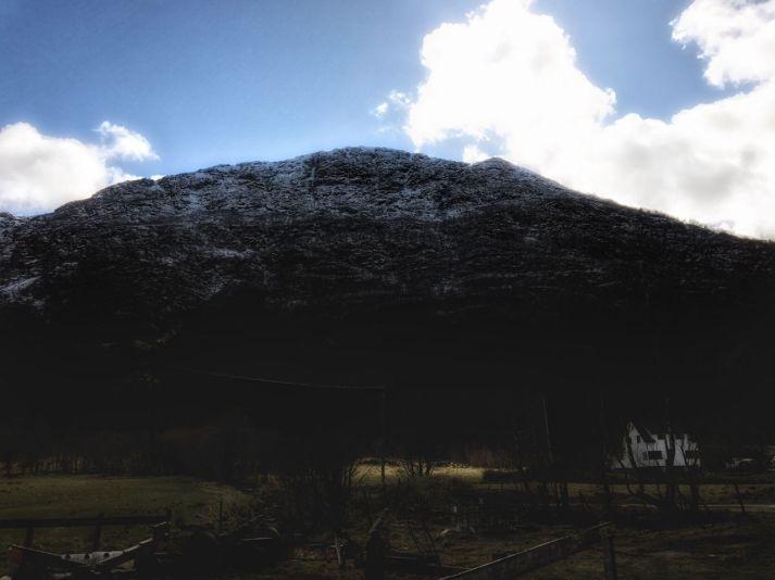 Mount Tysnessåta.