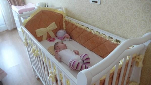 Бортики в кроватку своими руками: инструкция по изготовлению