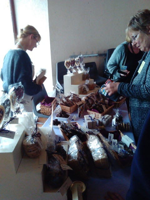April 2017 Coffee Morning with Chocoterie