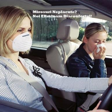 PURIFICARE AER HABITACLU CU OZON