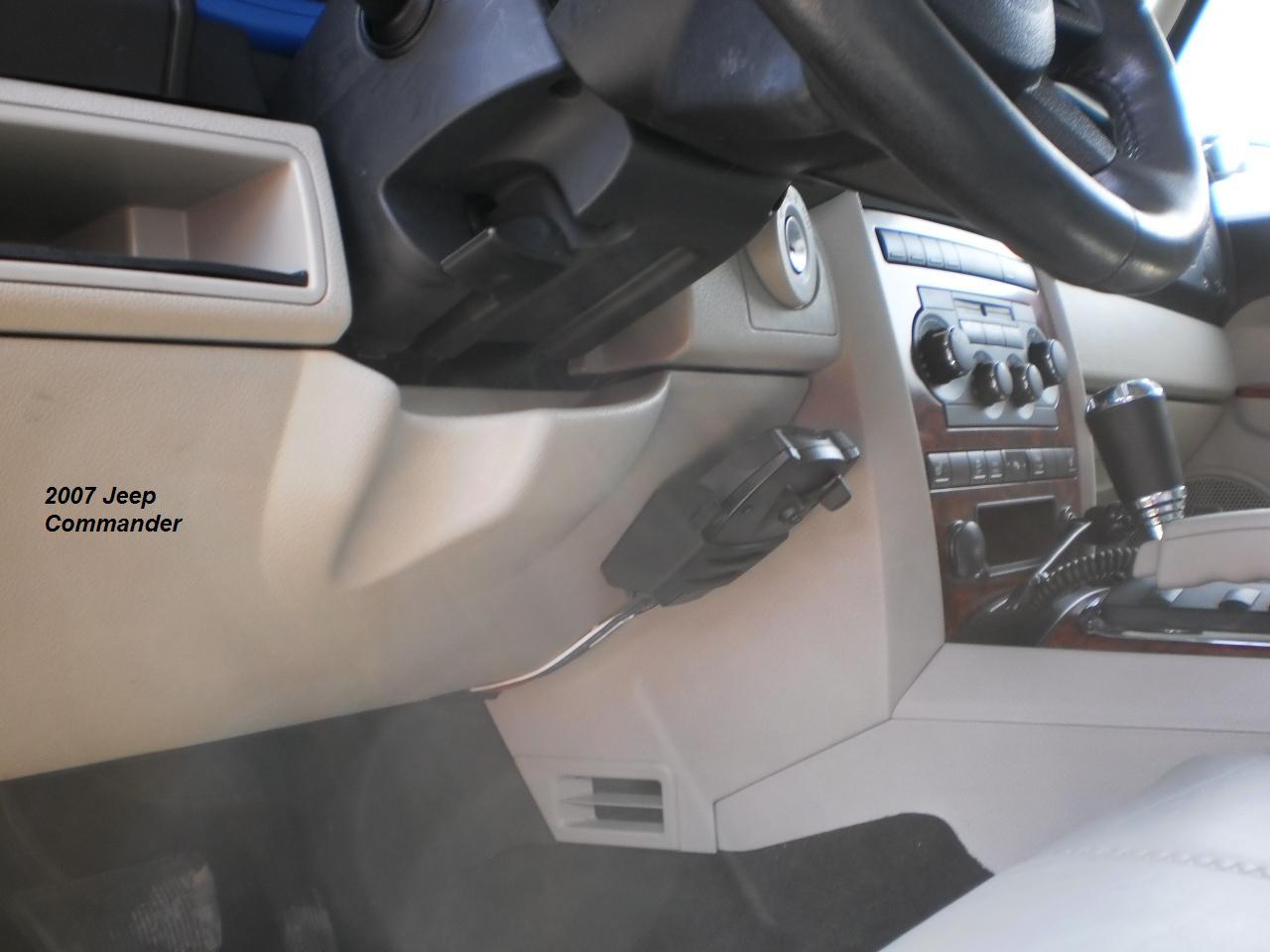 2007 Jeep Commander Truck Brake Controller Installation