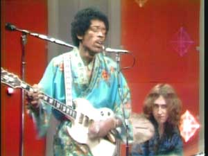 Jimi with an SG