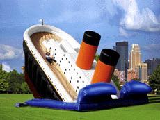 Inflatable Titanic