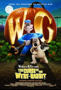 Wallace and Gromit in The Curse of the Were-Rabbit movie poster