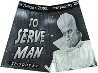 Twilight Zone: To Serve Man boxers