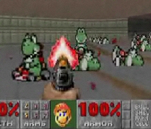Doom Mario