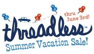Threadless summer vacation sale
