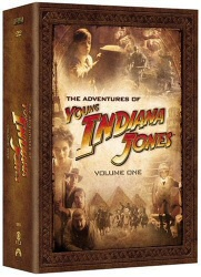The Adventures of Young Indiana Jones, Vol. 1 DVD Cover Art