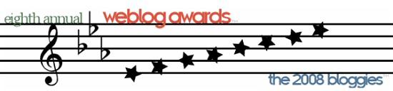 2008 Bloggie Awards
