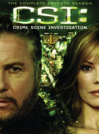 CSI: The Complete Seventh Season DVD box cover art