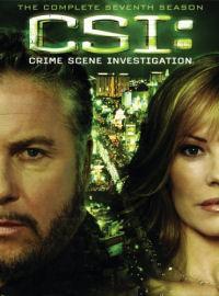 CSI: The Complete Seventh Season DVD box cover art