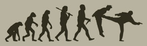 Darwin Kick T-Shirt by Threadless