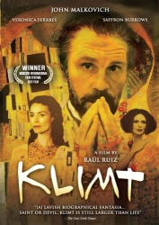 Klimt DVD cover art