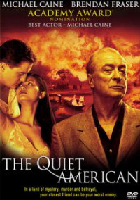 The Quiet American DVD box art