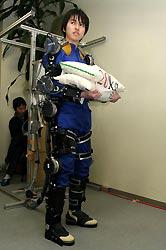 Japanese robotic exoskeleton for farmers