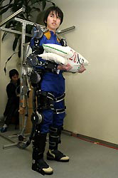 Japanese robotic exoskeleton for farmers