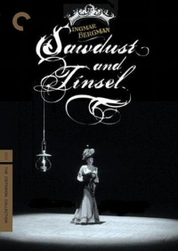 Sawdust and Tinsel: Criterion Collection DVD cover art