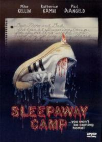 Sleepaway Camp DVD cover art