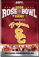 2008 Rose Bowl Game on ESPN DVD Cover Art