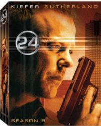 24 Season 5 DVD box art