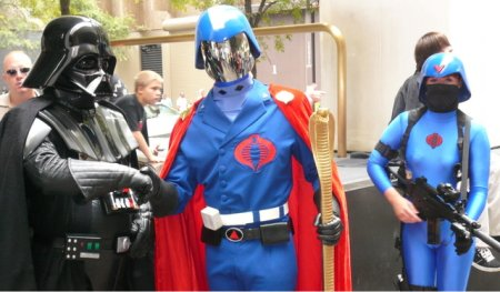 Darth meets Cobra Commander