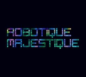 """Ghostland Observatory: """"Robotique Majestique"""" CD cover art"""
