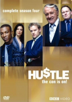 Hustle Complete Season Four DVD Cover Art