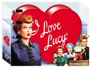 I Love Lucy: The Complete Series DVD cover art