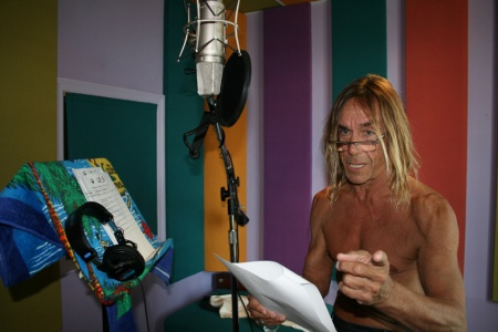 Iggy Pop does vocal work for Lil