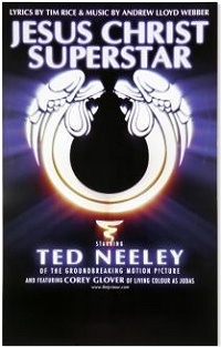 Jesus Christ Superstar National Tour poster art