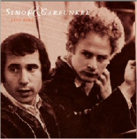 Simon and Garfunkel Live 1969 CD Cover Art