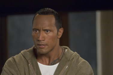 Dwayne Johnson in Southland Tales