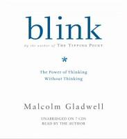 Blink audiobook cover art