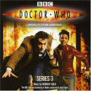 Doctor Who Series 3 soundtrack CD cover art