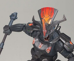 Halo 3 Series 1 Brute Chieftain action figure by McFarlane Toys