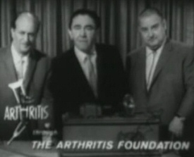 Three Stooges for the Arthritis Foundation