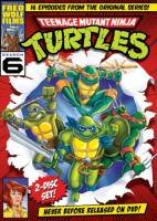 Teenage Mutant Ninja Turtles Season 6 DVD Cover Art