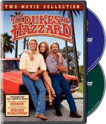 The Dukes of Hazzard Two-Movie Collection DVD Cover Art