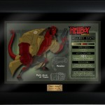Framed Hellboy character key