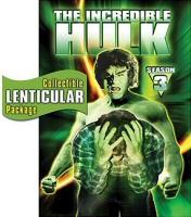 Incredible Hulk: The Complete Third Season DVD cover art