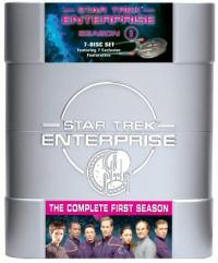 Star Trek: Enterprise: The Complete First Season DVD cover art