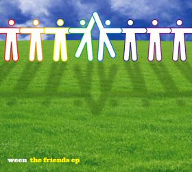 The Friends EP by Ween CD Cover Art