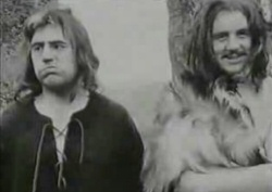 Terry Jones and Michael Palin from The Complete and Utter History of Britain