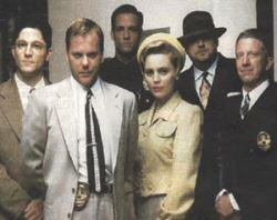The cast of the L.A. Confidential pilot