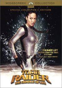 Tomb Raider: Cradle of Life DVD cover art
