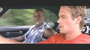 Tyrese Gibson and Paul Walker from 2 Fast 2 Furious