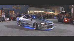 A car from 2 Fast 2 Furious