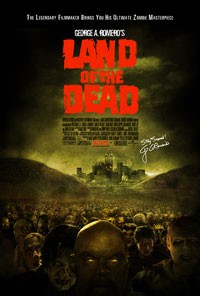 Land of the Dead movie poster art